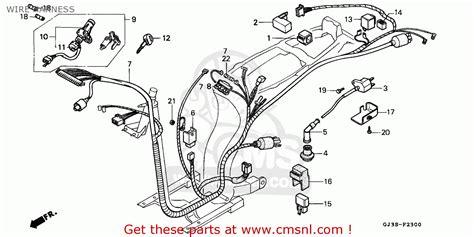 honda sh50 scoopy 1993 p netherlands kph wire harness