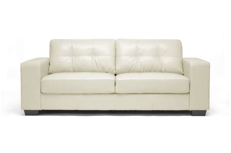 wholesale loveseats whitney ivory leather modern sofa set wholesale interiors