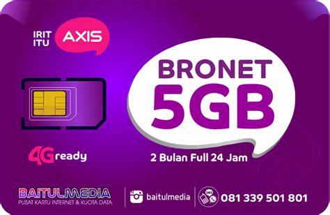 Voucher Aigo Axis 2gb paket axis bronet kuota 5 gb murah di bali