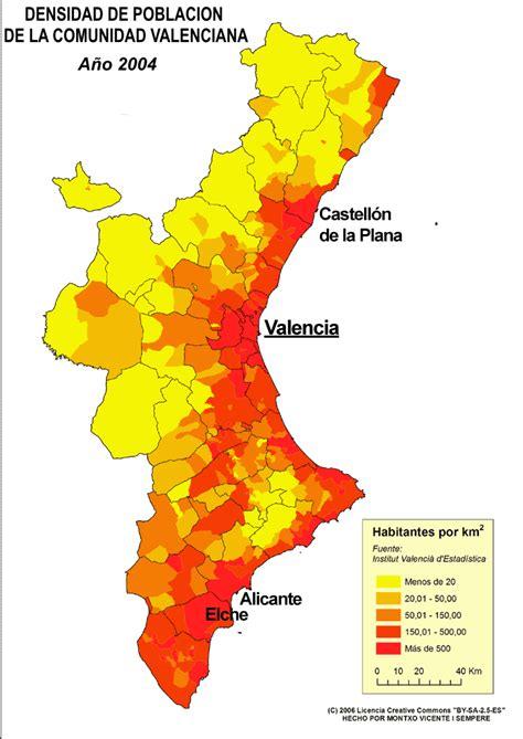 valencia y comunidad valenciana 8497760484 demograf 237 a de la comunidad valenciana wikiwand