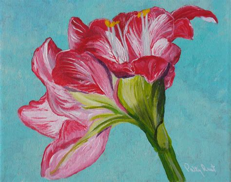acrylic flower 46 flower paintings ideas pictures images design