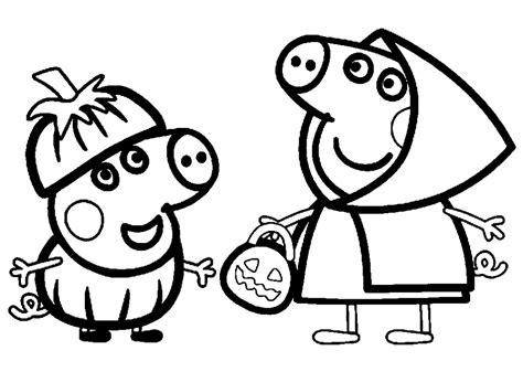 free pepa para colorear coloring pages dibujos peppa pig para imprimir y colorear dibujos para