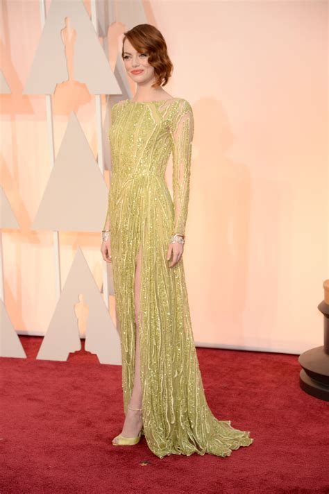 emma stone oscar fashion picks oscar 2015 merzybean