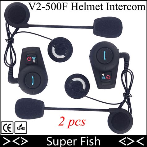 Headset Bluetooth Bt 500 2pcs freedconn motorcycle helmet intercom gps headset