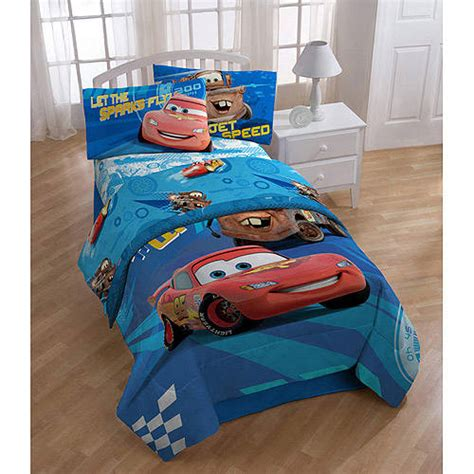 new kids cars 2 disney red twin full comforter sheets