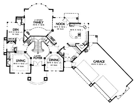 house plans with grand staircase grand split staircase house plans 40066