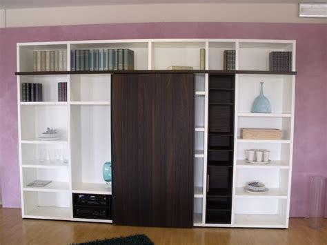 librerie poliform outlet composizione libreria wall system poliform soggiorni a