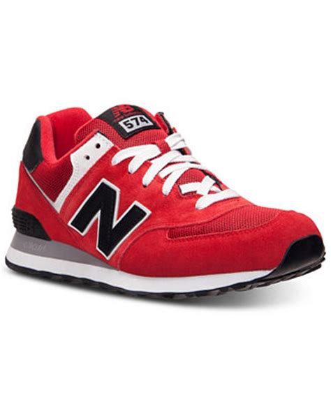 macys athletic shoes new balance s 574 sneakers from finish line finish