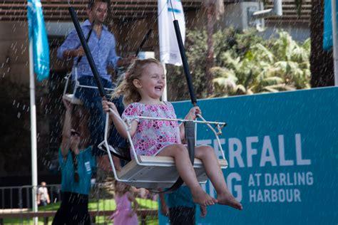 Sydney Festival Waterfall Swing Festival Village The