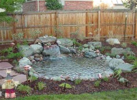 how to make a small backyard pond tips for building a garden pond dot com women