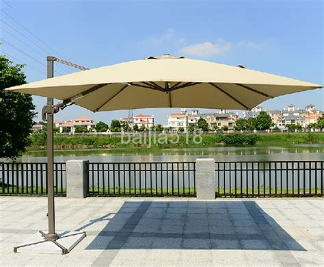 10 Offset Tilt Patio Umbrella Sun Shade Gj825 Gujia Best Patio Umbrella For Shade