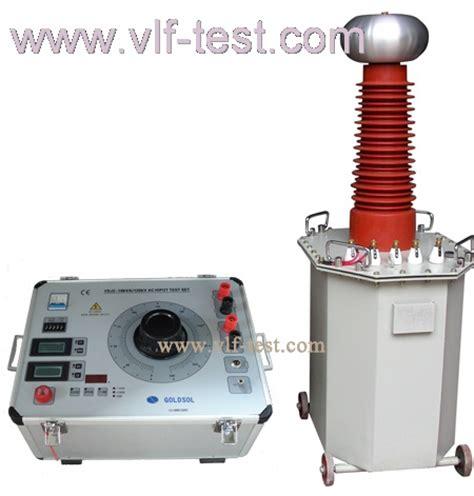 high voltage test leakage current ac dc high voltage test set