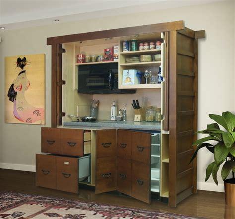 mini kitchen armoire stealth kitchen modules unfitted complete hidden mini