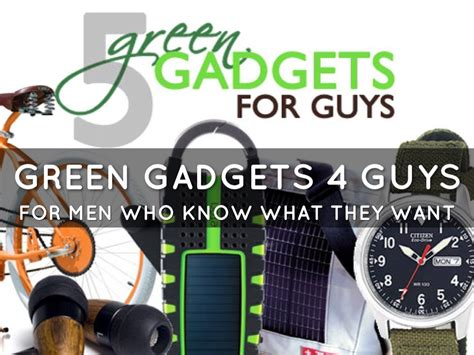 top 5 green gadgets for guys inhabitat green design haiku deck gallery travel and lifestyle presentations and