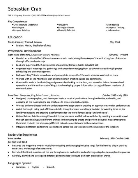 K State Resume Builder by Sabastian The Crab S Resumes