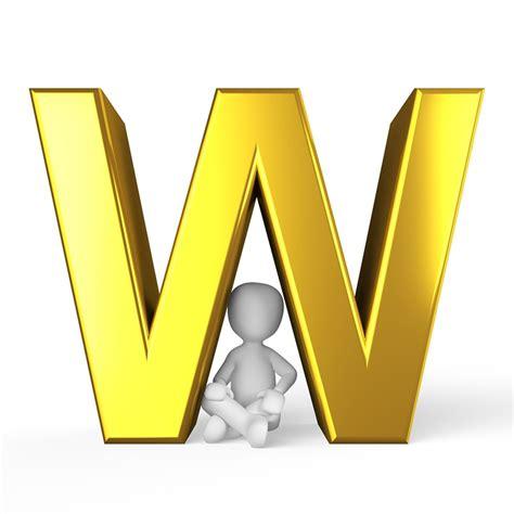 le lettere pi禮 d w letter alphabet 183 free image on pixabay
