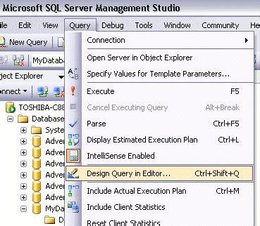 sql query designer tutorial kannan s tech blog lesson06 sql server query designer