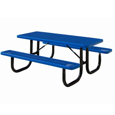 metal picnic benches expanded metal tables expanded metal picnic table