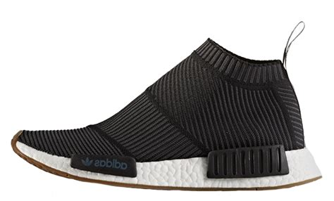 No City Black by Adidas Nmd City Sock Black Gum The Sole Supplier