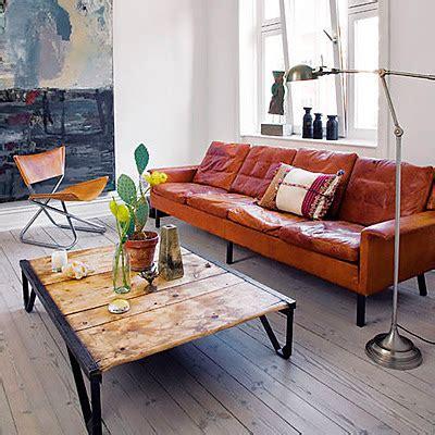battered leather sofa roseland greene weathered