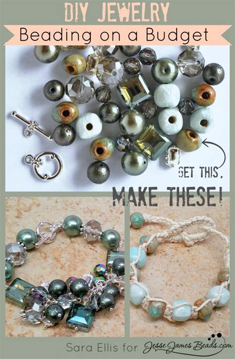 Beading on a Budget   Two Projects for the Price of One   Jesse James Beads Blog