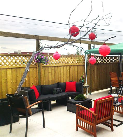 diy decorations branches diy tree branch patio decor marc and mandy show