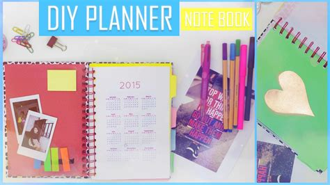 create planner diy how to make your own planner organizer book تعلمي كيف