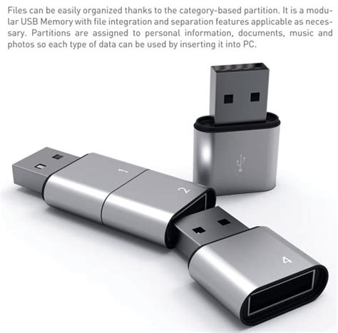 Usb Memory stackable usb flash drive allows virtually unlimited memory