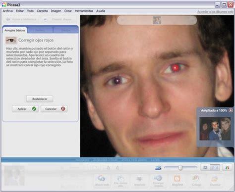editor de imagenes quitar ojos rojos programa para quitar ojos rojos