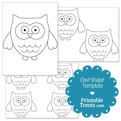 printable owl templates owl template printable