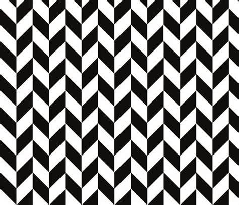 black and white herringbone pattern small black white herringbone fabric megankaydesign