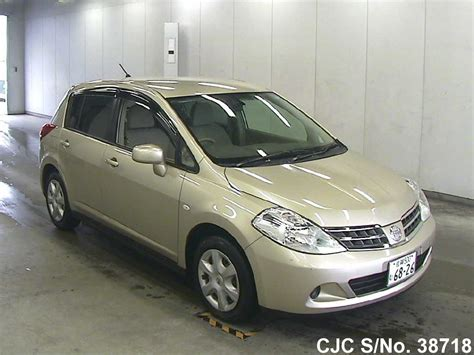 nissan tiida 2008 gold 2009 nissan tiida gold for sale stock no 38718
