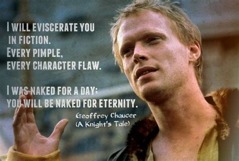 movie quotes knight s tale knights tale geoffrey chaucer quotes quotesgram