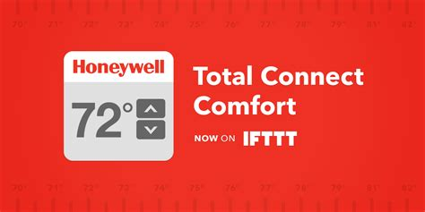 my total connect comfort ifttt blog introducing the honeywell total connect