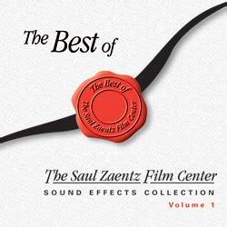 best sound effects library best of the saul zaentz center sound effects library