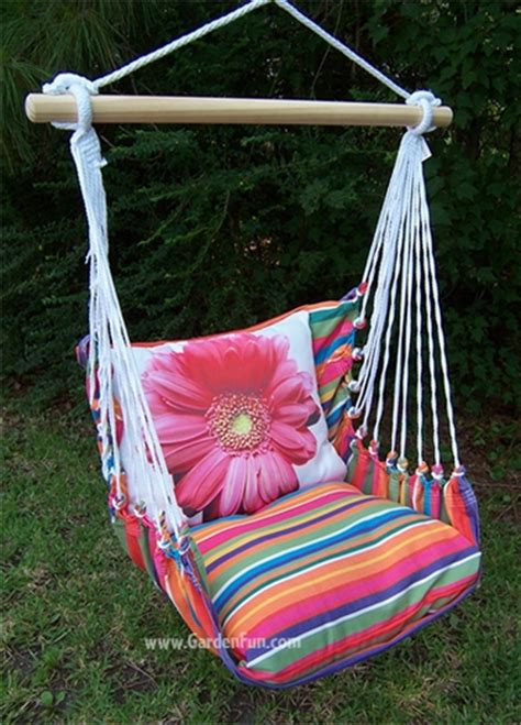 pink swing chair pink gerbera daisy hammock chair swing set only 149 99 at