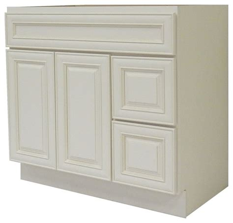 traditional bathroom vanities and cabinets ngy bathroom vanity cabinet antique white 36 x21