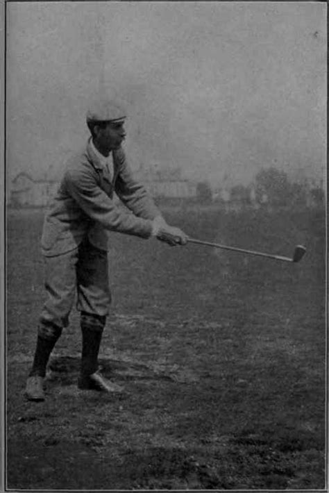 harry vardon golf swing the physical side continued