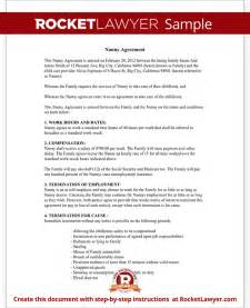 Babysitting Contract Template by Child Care Contract Agreement Form With Sle
