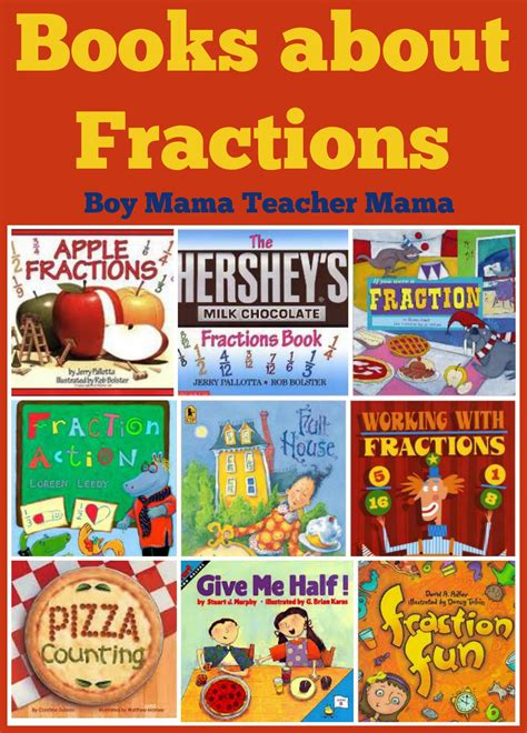 fraction picture books book books about fractions boy
