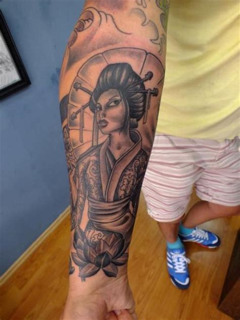 tattoo geisha arm arm fantasy geisha tattoo by yusuf artik tattoo studio