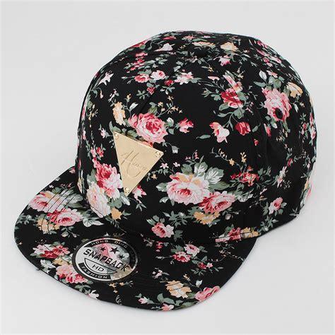 Snapback R15 hats floral flower hip hop snapback hats flat adjustable