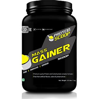 4 protein scoops a day protein scoop mass gainer vanilla 1kg 2 2 lbs