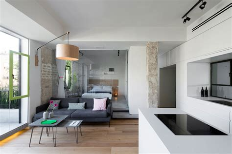 small apartment in tel aviv with functional design tiny and chic 721 square foot apartment in tel aviv israel
