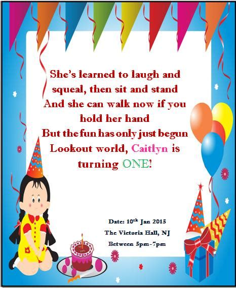 1st birthday card free template printable 1st birthday invitations demplates
