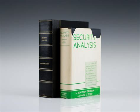 security analysis security analysis first edition graham and dodd rare book