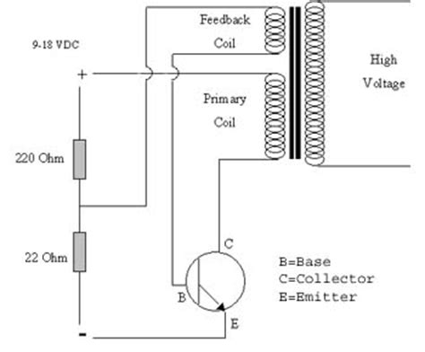 transistor driver transformer teslacoil anotherhexagon