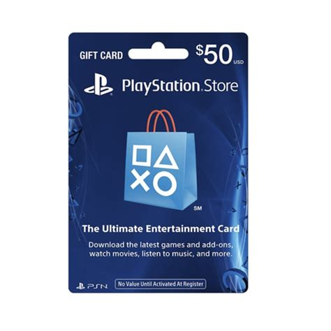Rakuten Gift Card - 50 playstation store gift card dealninja daily deals