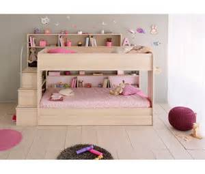 Bibop 2 Bunk Twin Over Twin Bed With Trundle 2 Mattresses