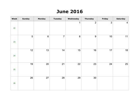personalized calendar template june 2016 printable calendar landscape a4 portrait